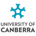Logo University of Canberra